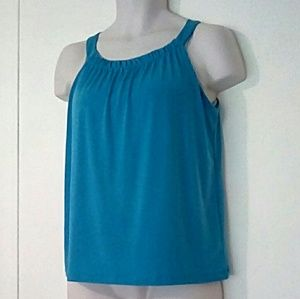 Lovely Aqua blouse size small 4-6